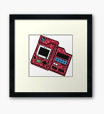 Pokedex Framed Print