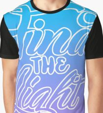 Find the Light Typography Graphic T-Shirt