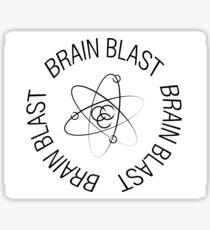 Atom Brain Blast Sticker