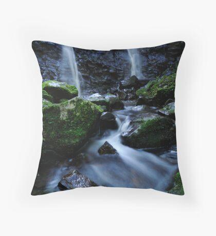Dual waterfall Throw Pillow