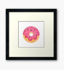 Happy donut Framed Print