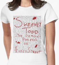 Sweeney Pop Women's Fitted T-Shirt