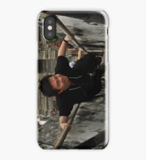 Asian Guy Coming Up iPhone Case/Skin