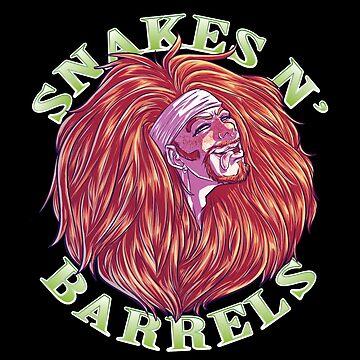 Snakes N' Barrels by StarryKnightArt