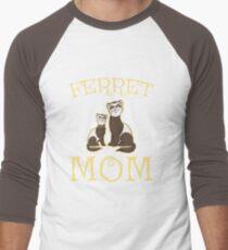 Funny Cute Ferret Mom T-Shirt