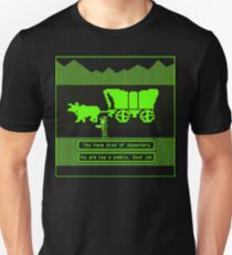 You have died from dysentery zombie Unisex T-Shirt
