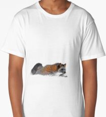 Fox On A Mission Long T-Shirt