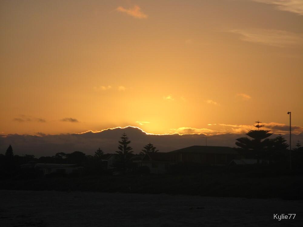 Sunset at Callala Beach by Kylie77