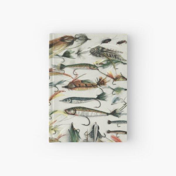 1920's Fishing Flies Hardcover Journal