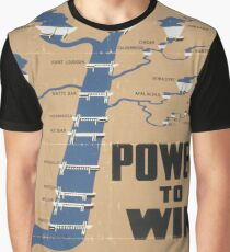 Vintage poster - Tennessee Valley Authority Graphic T-Shirt