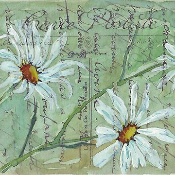 Daisies Postcard 1 by MareeClarkson