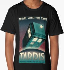 Now Boarding: TARDIS Long T-Shirt