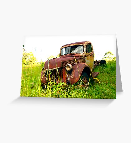 Grass Roots Rustbucket Greeting Card