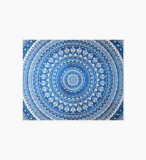 Mandala Blue Art Board