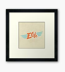 Elite Framed Print