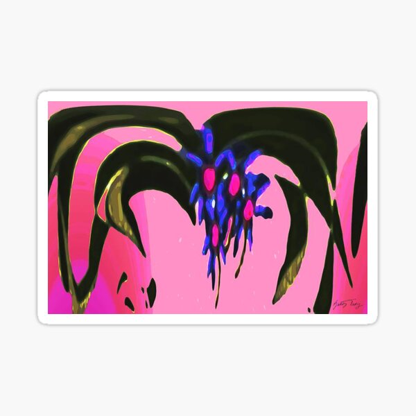 SPIDER FLOWER Sticker