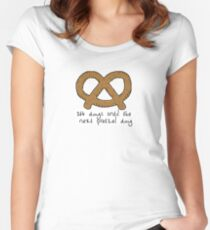 364 days until the next pretzel day the office Women's Fitted Scoop T-Shirt