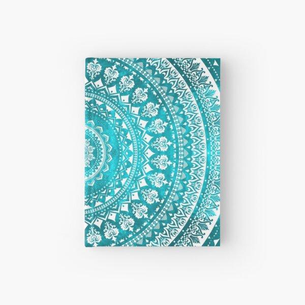 Mandala Turquoise Hardcover Journal