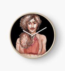 Warrior Woman Clock