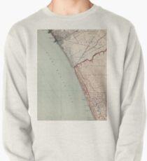 Vintage Map of Venice Beach California (1923)  Pullover Sweatshirt