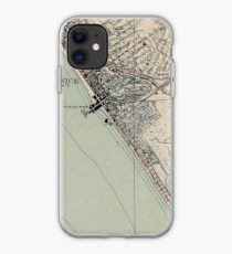 Vintage Map of Venice Beach California (1923)  iPhone Case