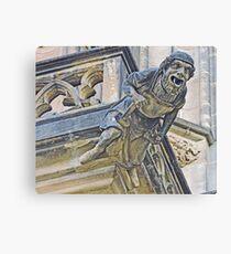 Gargoyle on St Vitus Canvas Print