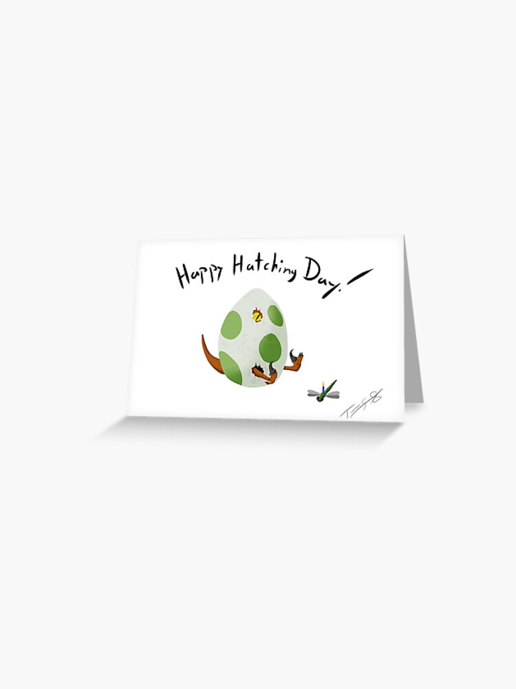 Blank Greeting Cards Hatching