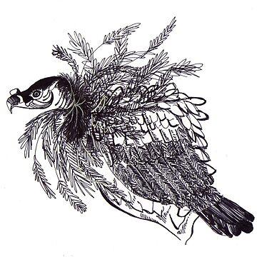 Tiberius, The Vulture/ Tiberio, El Buitre by NataliaMotta