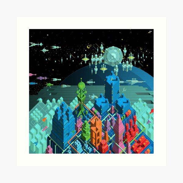 Pulse City Art Print