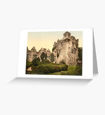 Vintage Photo-Print of Donegal Castle (1900) Greeting Card