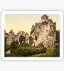 Vintage Photo-Print of Donegal Castle (1900) Sticker