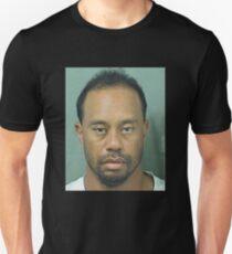 Tiger Woods Mug Shot tee  T-Shirt