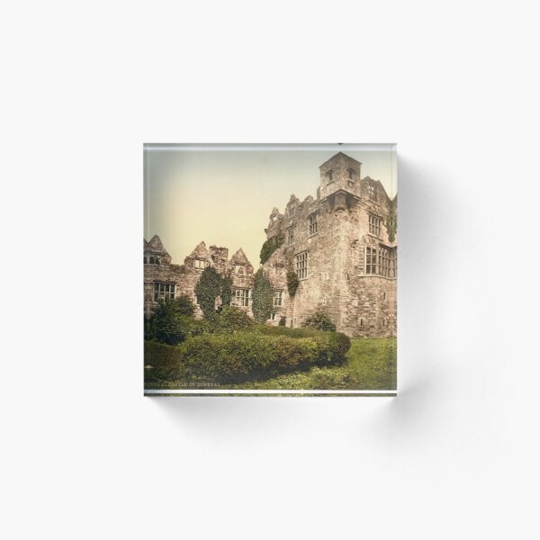 Vintage Photo-Print of Donegal Castle (1900) Acrylic Block