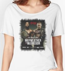 Conor McGregor vs. Floyd Mayweather Women's Relaxed Fit T-Shirt