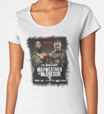 Conor McGregor vs. Floyd Mayweather Women's Premium T-Shirt