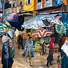 Market Day in Alexandria by Jamie Alexander