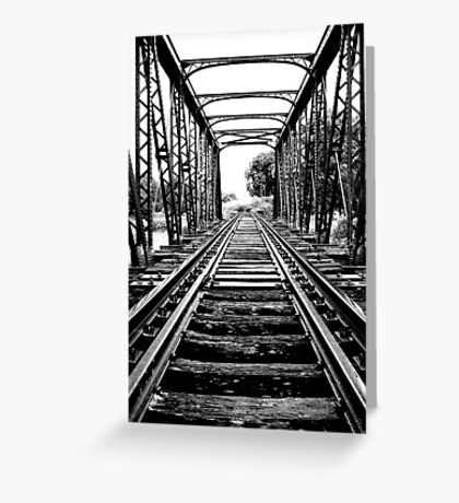 End of the line... Greeting Card