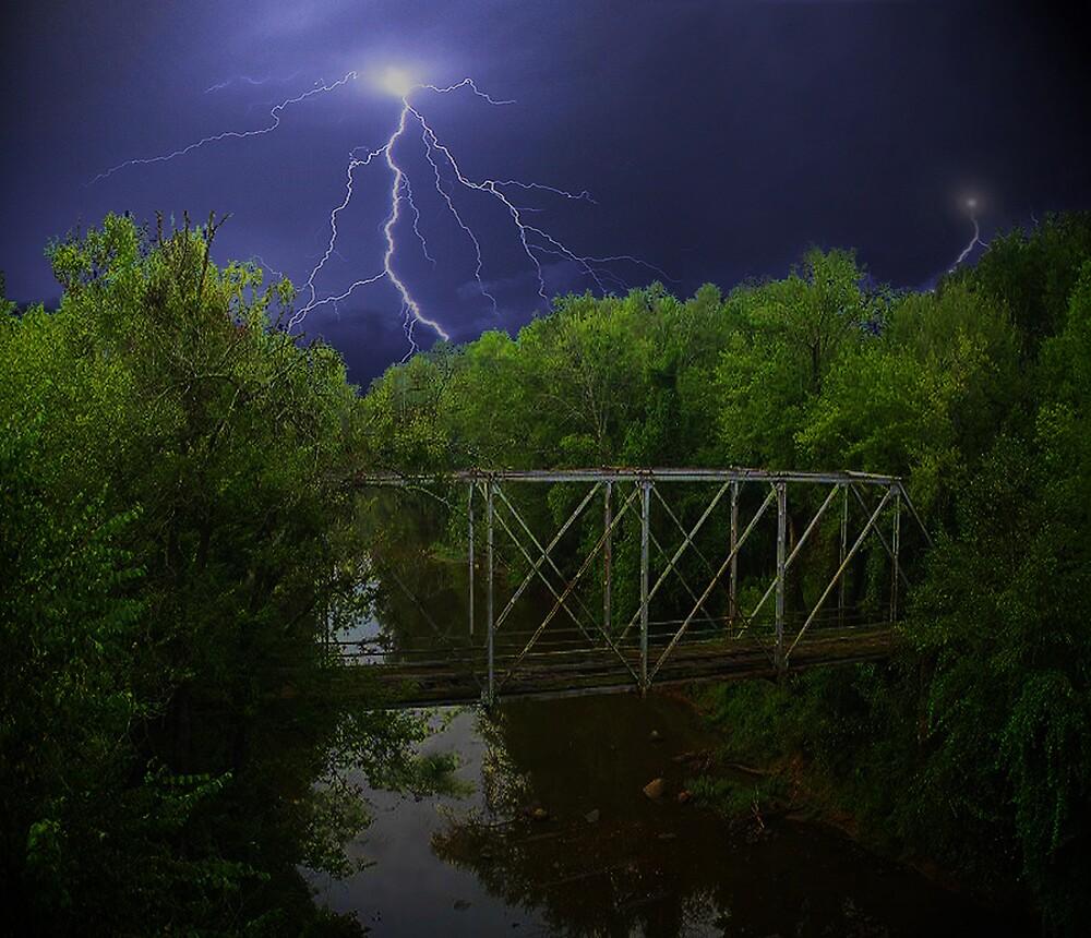 Bridge During a Storm  by kelleybear