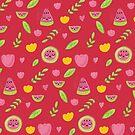 cute summer Watermelon party by Claudia Ramos