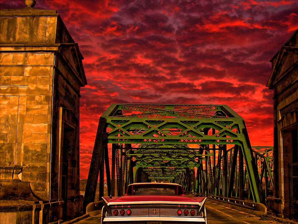 Sunset Boulevard Bridge  by kelleybear