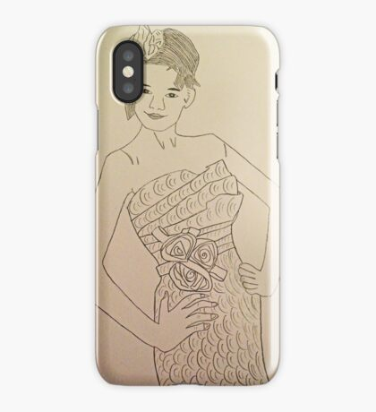 Wedding Dress No 3 iPhone Case