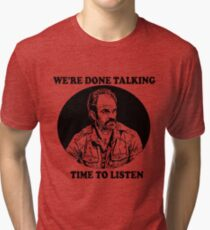TWD/SAVIOR: SIMON Tri-blend T-Shirt