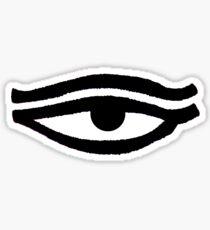 Eye of Dharma - Shake the 5 Dusts Sticker