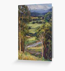 View of Rollands Plains Greeting Card