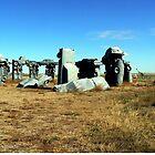 Carhenge, Nebraska by Graeme  Hyde