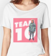 Jake Paul, team 10  Women's Relaxed Fit T-Shirt