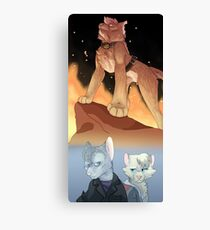 Time War Canvas Print