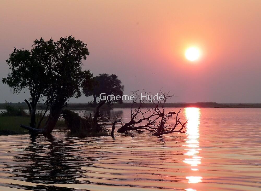 Chobe River Sunset by Graeme  Hyde