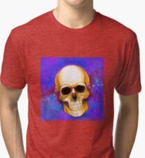 Electric Skull Tri-blend T-Shirt
