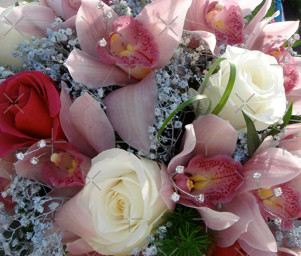 Wedding Bouquet by ScarlettRose